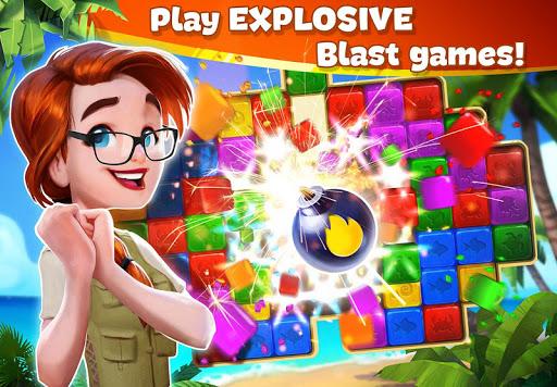 بازی اندروید جزیره گمشده: ماجراجویی انفجار - Lost Island: Blast Adventure