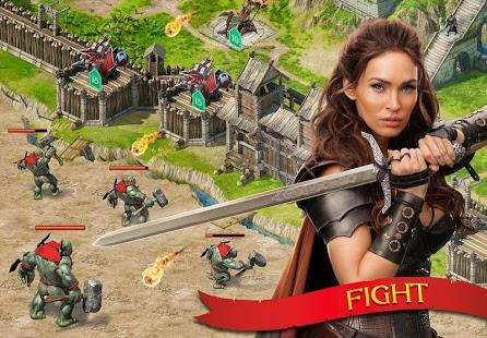 بازی اندروید سقوط طوفان - Stormfall: Rise of Balur