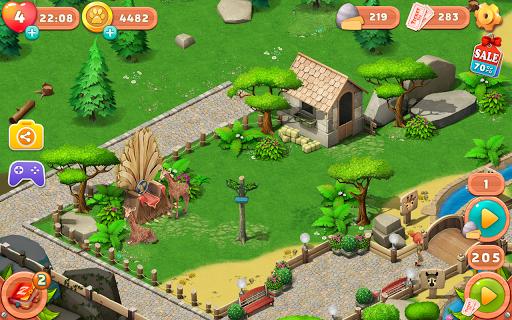 بازی اندروید داستان باغ وحش خانواده - Family Zoo: The Story