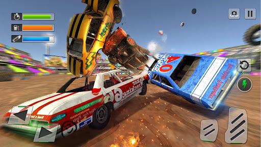 بازی اندروید مسابقه تخریب ماشین - Derby Car Race: Crash Stunt Racing
