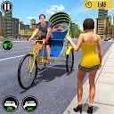 دوچرخه خودکار ریکشاو - بازی جدید رانندگی