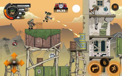 بازی اندروید سربازان آهنی 2 - Metal Soldiers 2