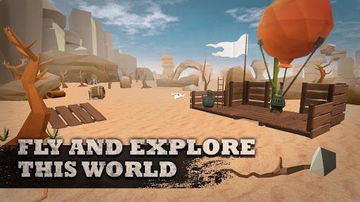 بازی اندروید آسمان صحرا - بقا سانداکس - Desert Skies - Sandbox Survival