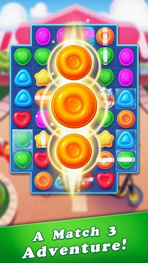 بازی اندروید صدای انفجار آب نبات - Candy Bomb Smash