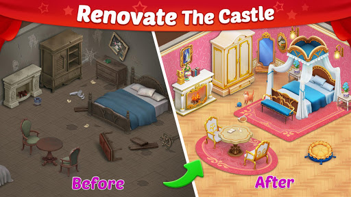 بازی اندروید داستان قلعه - پازل و انتخاب - Castle Story: Puzzle & Choice