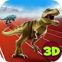 مسابقه دایناسور ژوراسیک T-Rex