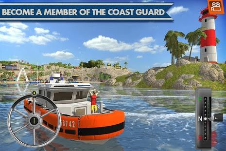 بازی اندروید تیم نجات گارد ساحلی - Coast Guard: Beach Rescue Team