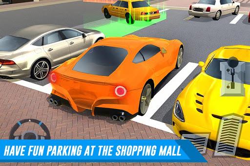 بازی اندروید پارکینگ خودرو - Shopping Mall Car & Truck Parking