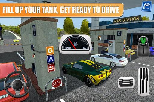 بازی اندروید ایستگاه گاز 2 - خدمات بزرگراه - Gas Station 2: Highway Service
