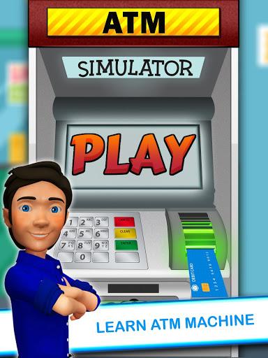 بازی اندروید شبیه ساز دستگاه مجازی خودپرداز - ATM Machine Simulator - Virtual Bank ATM Game