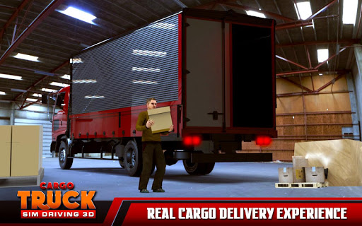 بازی اندروید بارگیری کامیون 2017 - Cargo Truck Parking Sim 2017