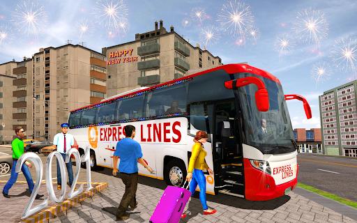بازی اندروید شبیه ساز اتوبوس شهر - بازی اتوبوس 2021 - City Coach Bus Simulator: Bus Games 2021