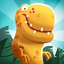 بازی ترساندن دایناسور - جنگ های دفاع غارنشین ها دایناسورها