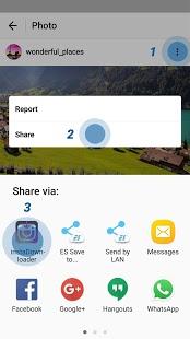 نرم افزار اندروید ویدیو دانلودر اینستاگرام - Video Downloader for Instagram