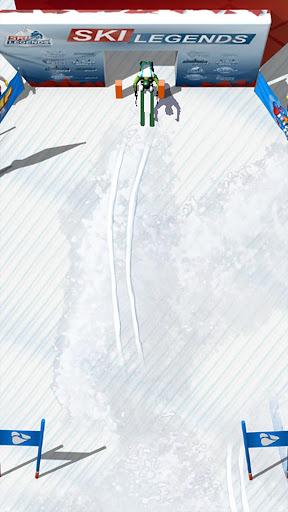 بازی اندروید افسانه های اسکی - Ski Legends