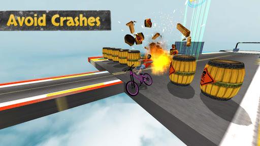 بازی اندروید دوچرخه سواری - Reckless Rider