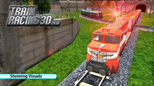 بازی اندروید راننده قطار 2018 - Train Racing 3D-2018