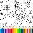 بازی رنگ آمیزی شاهزاده خانم