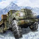 راننده قهرمان  کامیون جاده خاکی و برف ارتش