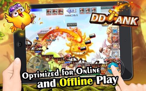 بازی اندروید دی دی تانک - DDTank