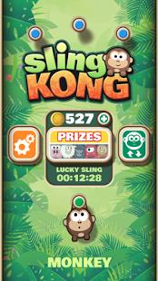 بازی اندروید پرتاب کنگ - Sling Kong