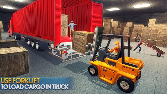 بازی اندروید کامیون حمل سوپرمارکت - Supermarket Transporter Truck