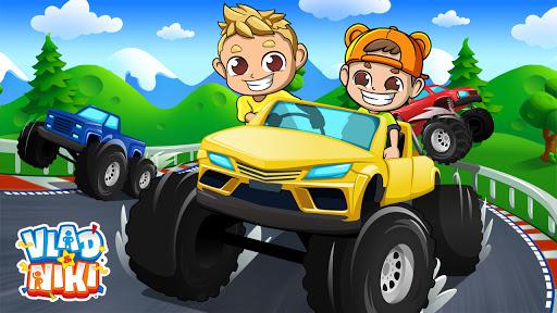 بازی اندروید کامیون هیولا ولاد و نیکی - Monster Truck Vlad & Niki