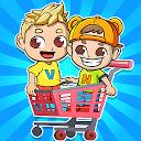 بازی بازی سوپر مارکت ولاد و نیکی برای کودکان