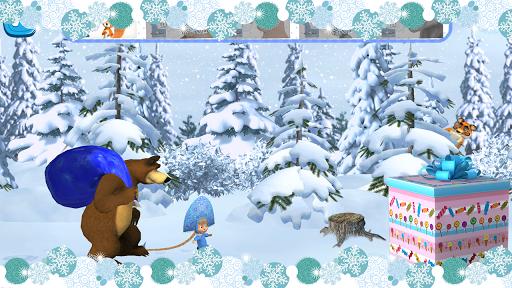 بازی اندروید ماشا و خرس - خرید کریسمس - Masha and The Bear: Xmas shopping