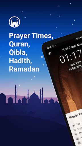نرم افزار اندروید زمان اذان نماز - Athan Pro - Azan & Prayer Times & Qibla