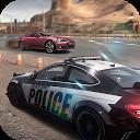 راننده پلیس مقابل مجرم