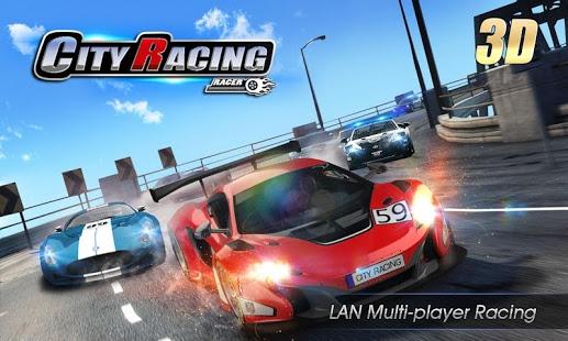 بازی اندروید مسابقه شهری - City Racing 3D