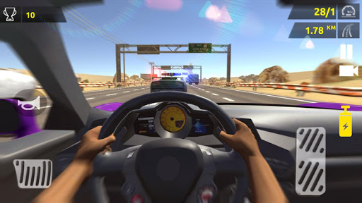 بازی اندروید هیجان مسابقه ماشین - Racing Fever Car