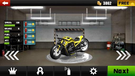 بازی اندروید ترافیک سه بعدی موتور - Traffic Moto 3D