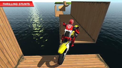 بازی اندروید مسابقه موتور - Racing on Bike Free