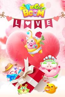 بازی اندروید پیگی بوم - روز ولنتاین - Piggy Boom——Valentine's Day