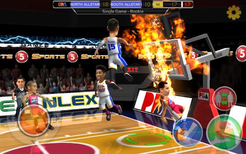 بازی اندروید بسکتبال تیمی - PH Slam! - Basketball
