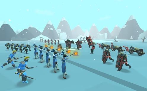بازی اندروید حماسه نبرد 2 - Epic Battle Simulator 2