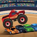 بازی کامیون هیولا برای کودکان و نوجوانان
