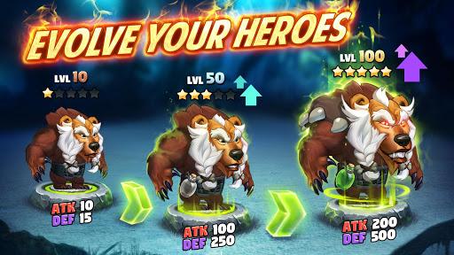 بازی اندروید صحنه نبرد - ماجراجویی آنلاین قهرمانان - Battle Arena: Heroes Adventure - Online RPG