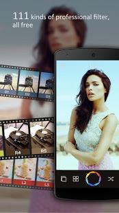 نرم افزار اندروید فیلتر باکیفیت دوربین - UCAM-HD Filter Camera