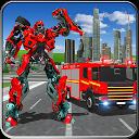 کامیون آتش نشانی ربات - جنگ های رباتی