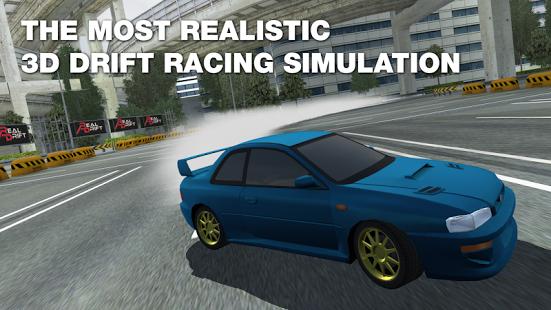 بازی اندروید مسابقه دیریفت واقعی ماشین - Real Drift Car Racing Free