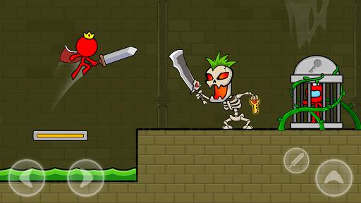 بازی اندروید استیکمن قرمز - مبارز انیمیشن استیکمن - Red Stickman : Animation vs Stickman Fighting