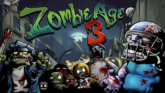 بازی اندروید دوران زامبی 3 - Zombie Age 3