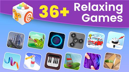 بازی اندروید ضد استرس - آرامش بی پایان - AntiStress, Relaxing, Anxiety & Stress Relief Game