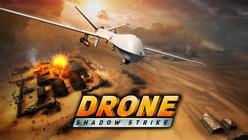 بازی اندروید سایه هواپیمای جنگی - Drone Shadow Strike