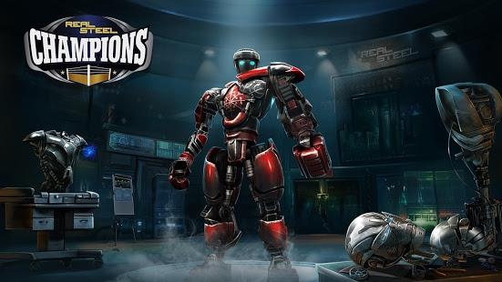 بازی اندروید بوکس ربات ها - Real Steel Champions