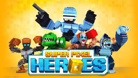 بازی اندروید سوپر پیکسل هیرو - Super Pixel Heroes