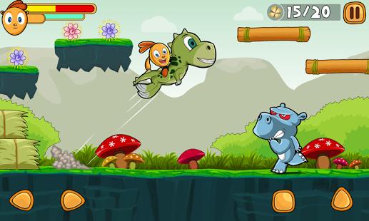بازی اندروید سرگذشت جنگل - Jungle Adventures Story